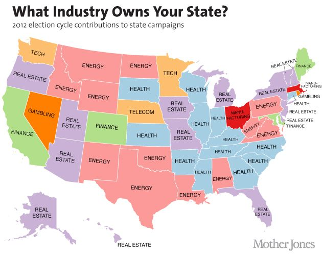 Map What Industry Owns Your State Most Popular Tv Shows Usa Tv Shows Map