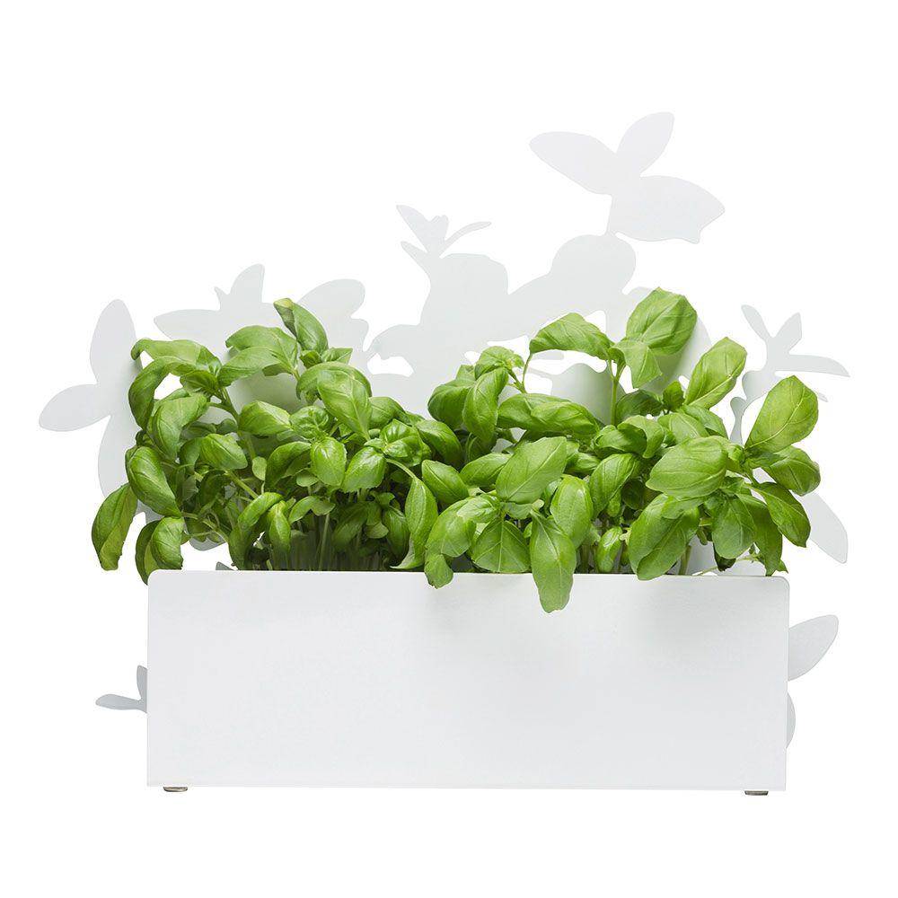 Form Herb Pot, White, Sagaform