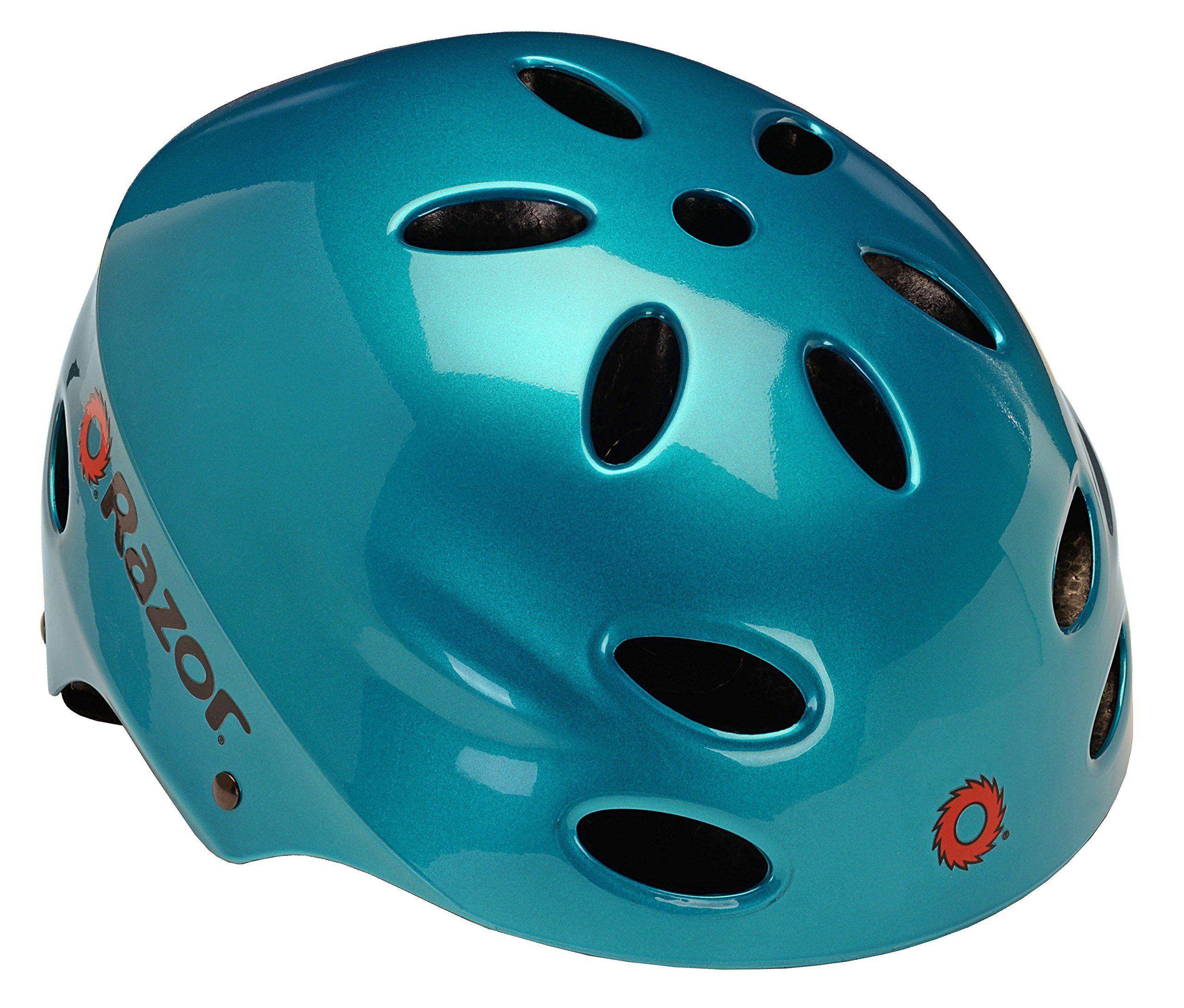 Razor V17 Adult MultiSport Helmet Aqua Teal *** Click