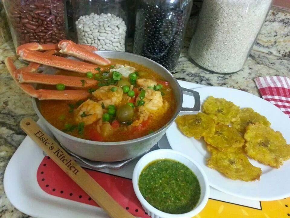 Sopas De Camarones Y Tostones Cultura Puertorriqueña Pinterest
