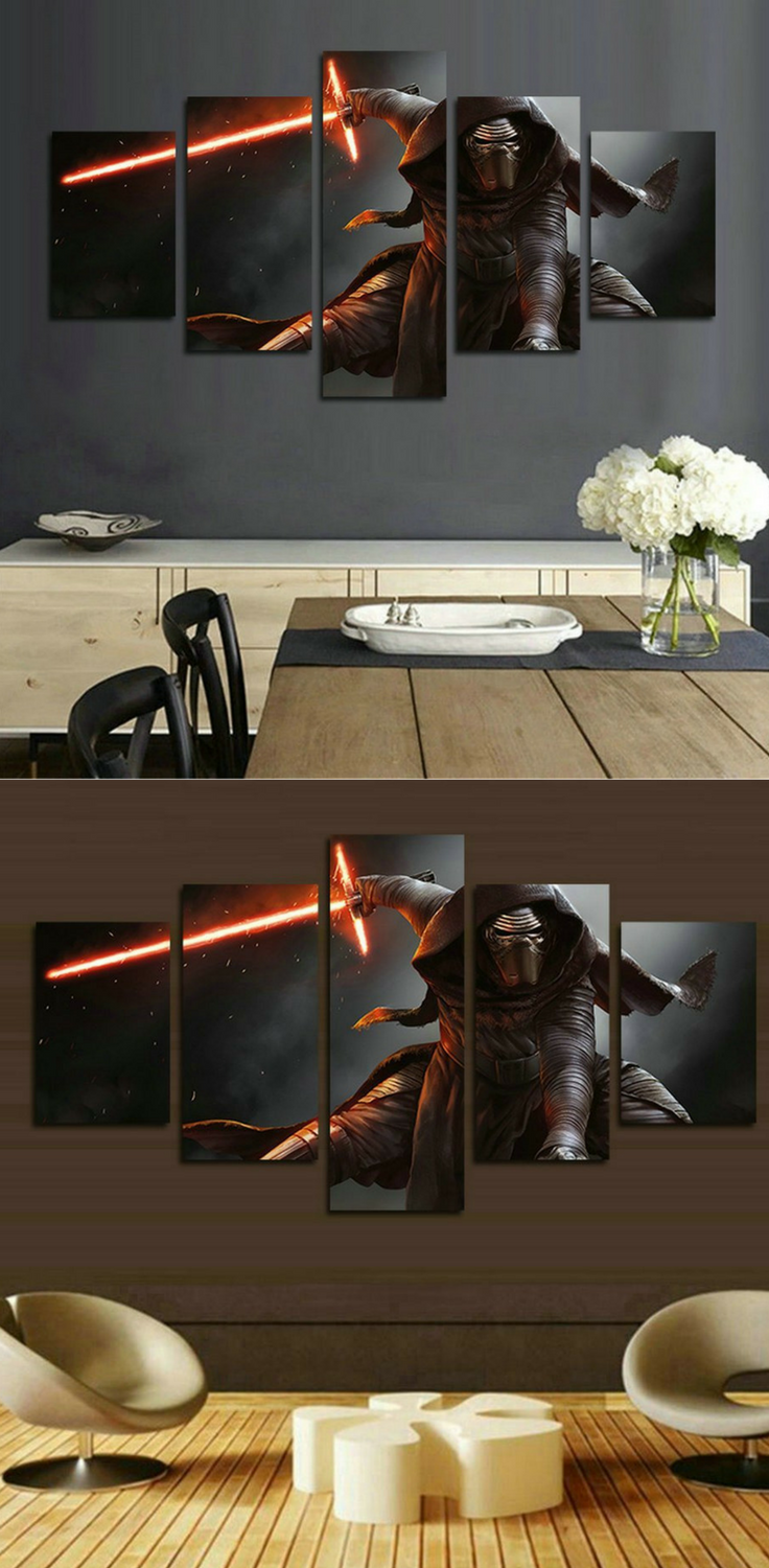 Make any living space awesome with star wars canvas art star