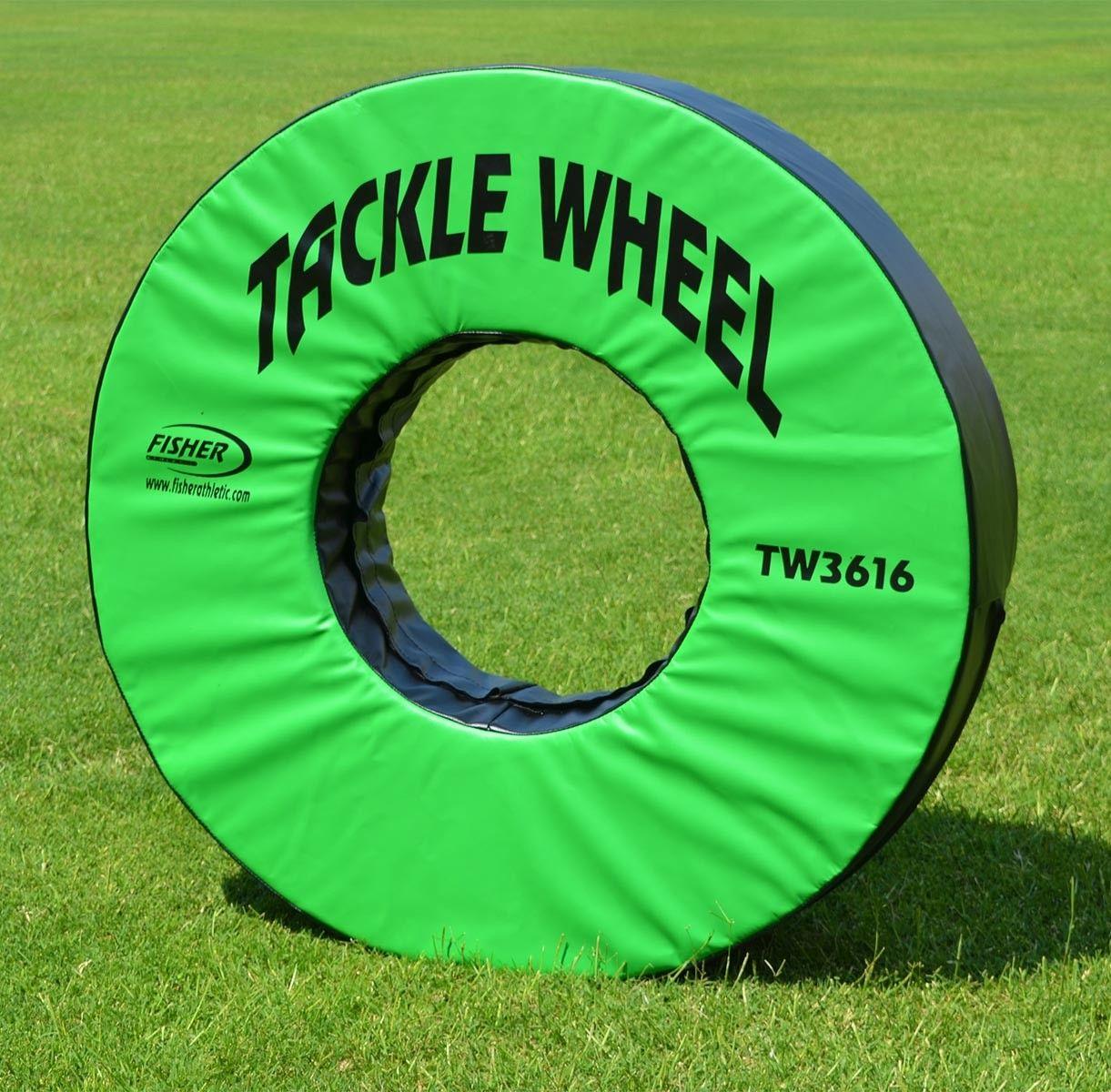 Fisher 36 dia football tackle wheel tw3616 tackling
