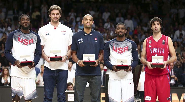 Irving Named Mvp Of 2014 Fiba Basketball World Cup Headlines All Star Five Team Usa Basketball Team Usa Fiba Basketball