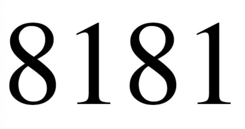 Significado Do Numero 8181 Interpretacao Da Numerologia Numerologia Simbolo Matematica Interpretacao