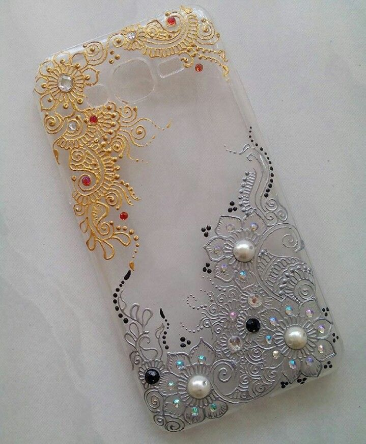 Mobile Henna Artist Los Angeles Ca: Handmade Mobile Cover, Henna Phone Case