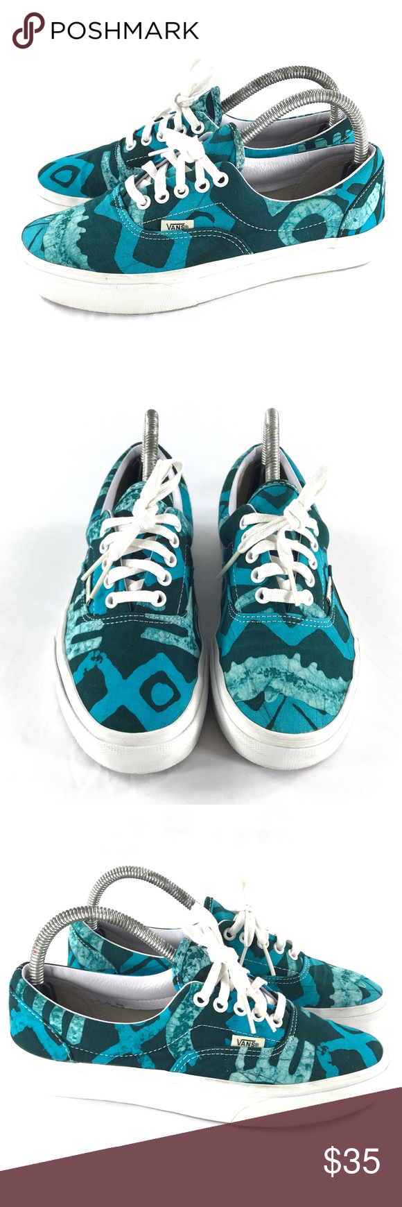 f6fa36b905 Vans Della Batik Print Shoes Size 6.5 men 8 Women