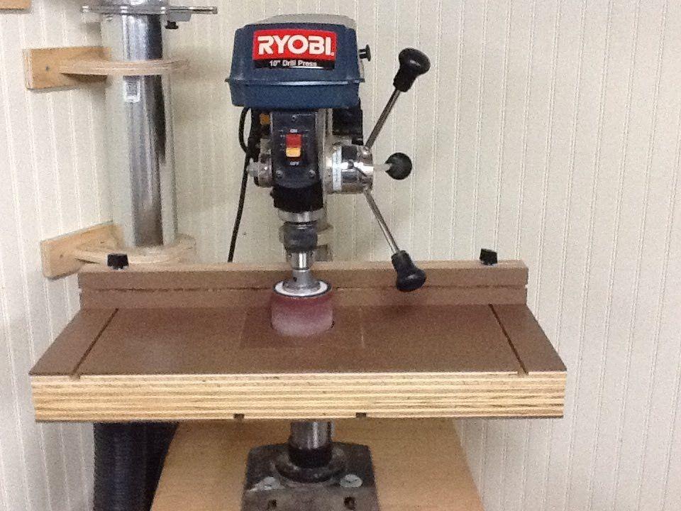 Build the ultimate drill press table drill press table