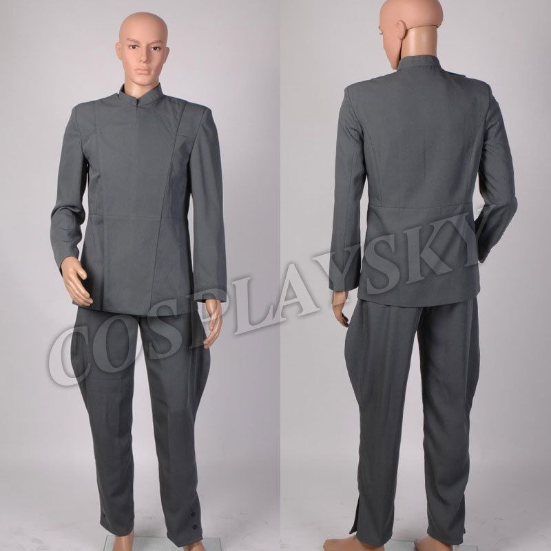 Star Wars Imperial Officer Uniform Costume NEW Grey Gray Cosplay Costume