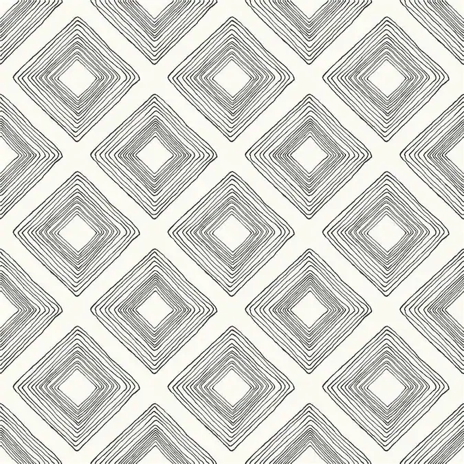 York Wallcoverings Magnolia Home Vol Ii 56 Sq Ft Black On White Paper Geometric Prepasted Soak And Hang Wallpaper Lowes Com In 2021 Diamond Sketch Magnolia Wallpaper Magnolia Homes