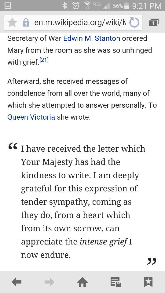 Mary Todd Lincoln's letter to Queen Victoria #sympathy #grief
