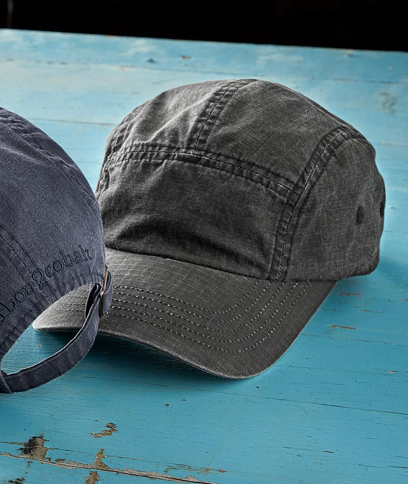 dfd5bff6f92e4 Men s Laidback Cap - The quintessential hat of summer in a quintessential  summer fabric