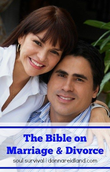 The Bible on Marriage & Divorce August 25 #divorce