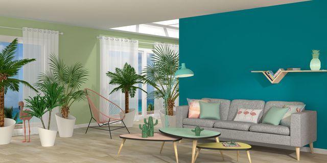 Peinture bleu  12 couleurs bleutées pour repeindre son intérieur - Peindre Un Mur Interieur