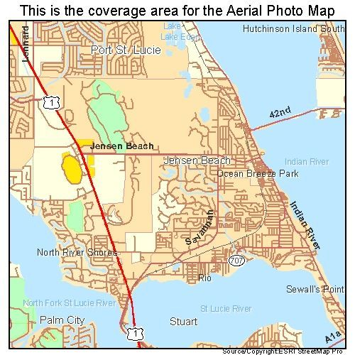 Jensen Beach Florida Map.Jensen Beach Fl Maps Search All Categories Digital Aerial