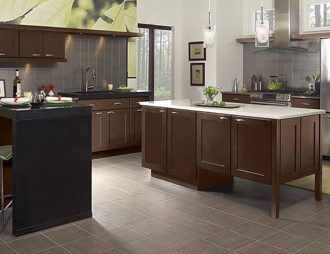 merillat maple pecan - Google Search | Classic kitchen ...