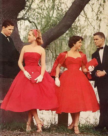 Red Dresses <3 1959