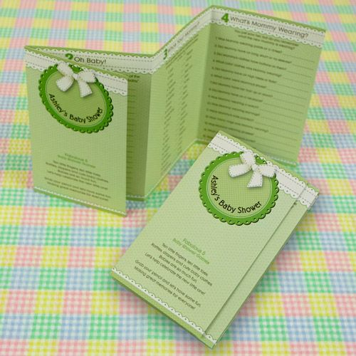 Fabulous 5   Itu0027s A Baby Personalized Baby Shower Games $0.99