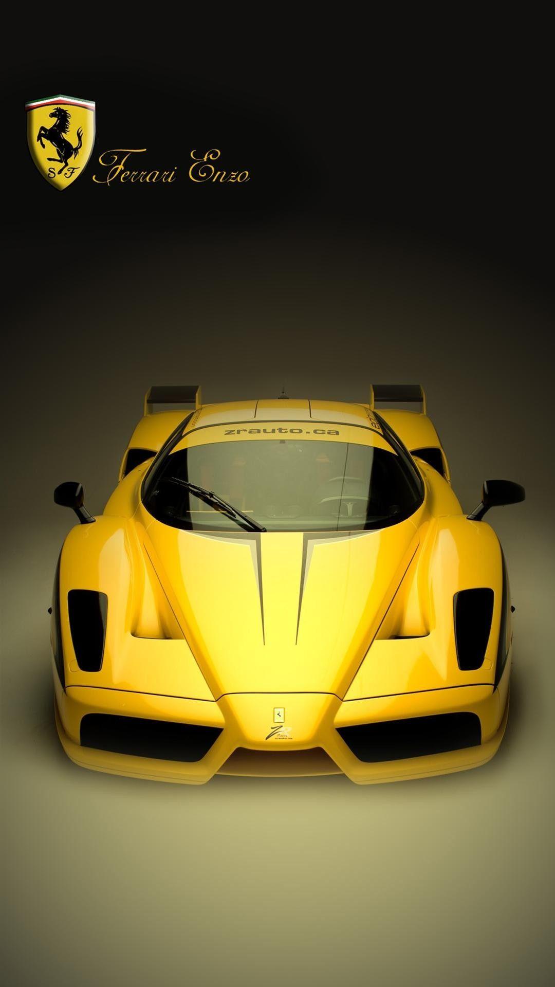 黄色いフェラーリ Iphonex スマホ壁紙 待受画像ギャラリー フェラーリ スポーツカー すごい車