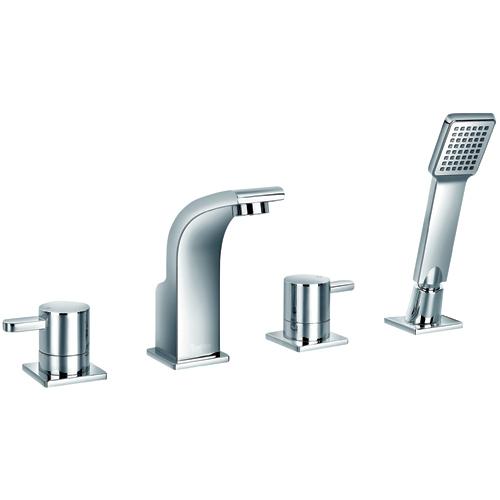 Jalo Wave Roman Bath Faucet 4 Piece R19 1429 00 Cc Rona