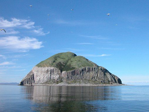 Ailsa Craig South West Scotland Where The Only Granite