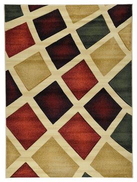 Best Multi Color Contemporary Abstract Design Rug Contemporary 400 x 300