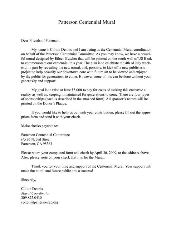 sponsorship donation letter get scholarship grants and fundraising - format for sponsorship letter