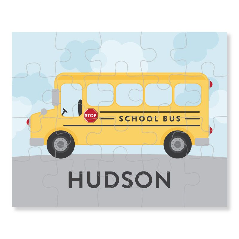 Personalized 8 x 10 Puzzle Personalized Children Puzzle Personalized Name Puzzle Personalized Car Puzzle 20 pieces Puzzle
