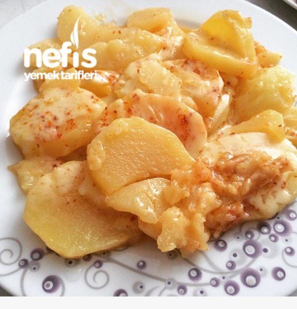 Lezziz Kaşarlı Patates