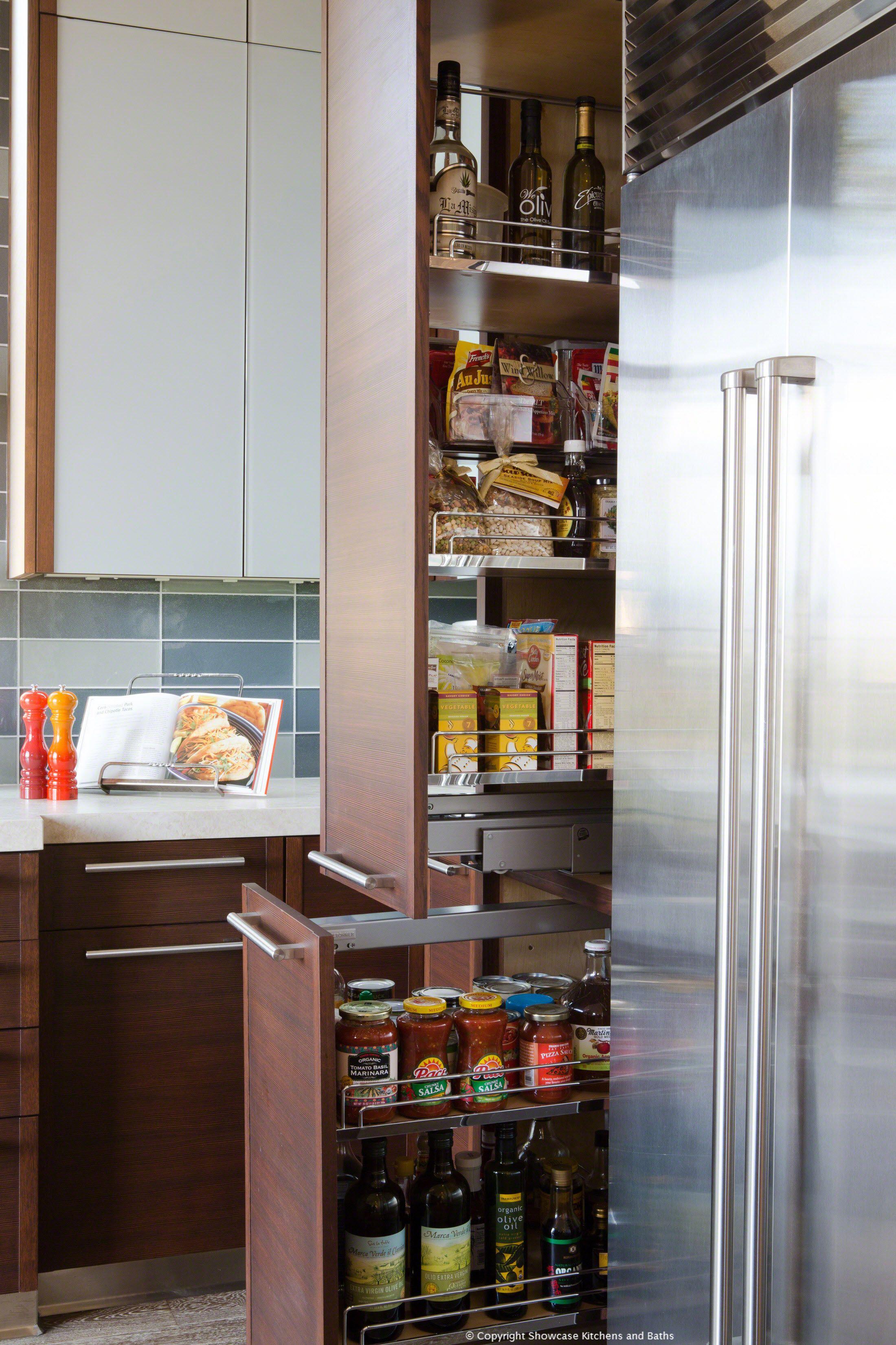 Custom Kitchen Pantry   Kitchen Remodel By Showcase Kitchens And Baths