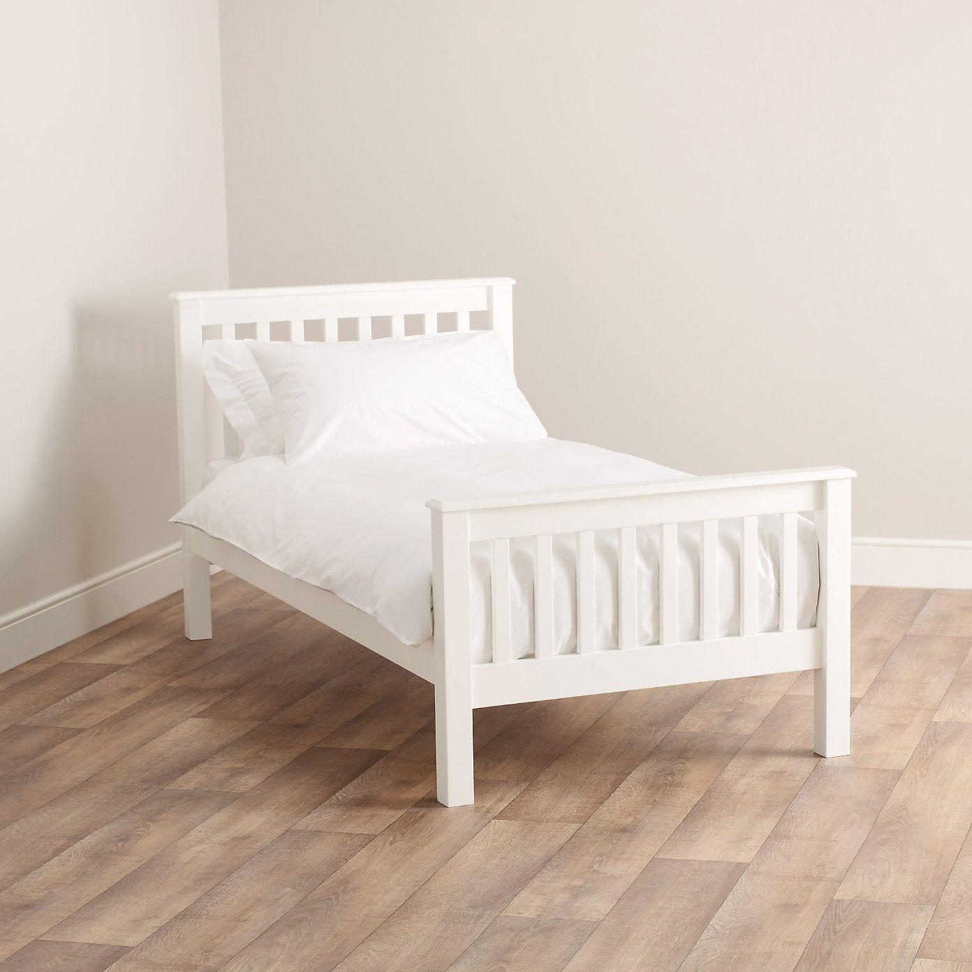 Classic single bed the white company chu chuus room pinterest