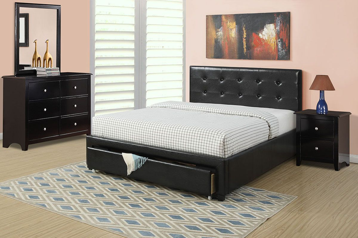 Poundex Associates Corporation Full Size Bed in 2020