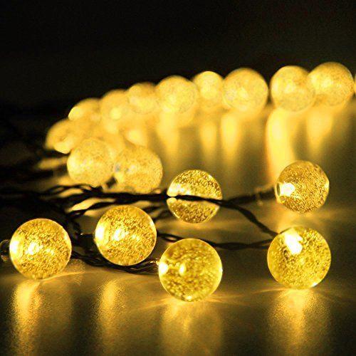 Zogin LED Guirlande Lumineuses Eclairage Lumiere Solaire etanche ...