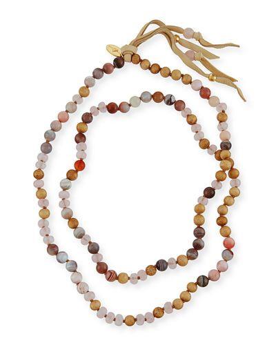 Chan Luu Beaded Tassel Necklace, 38
