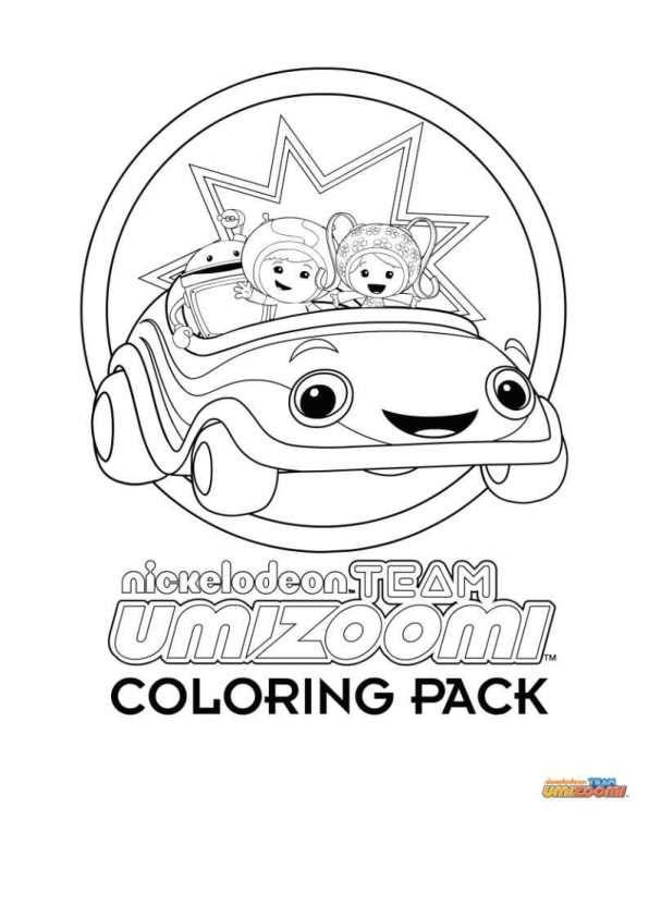 Kids N Fun Com Team Umizoomi Nick Jr Coloring Pages Team Umizoomi Team Umizoomi Birthday