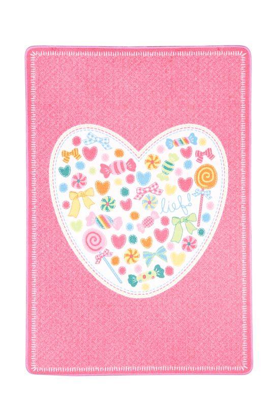 Beste Karpet Sofie van lief!: vrolijk vloerkleed voor de kinderkamer KF-86