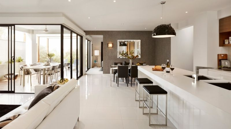 Contemporary Designed House Interior Photo - Matisse by Carlisle Homes