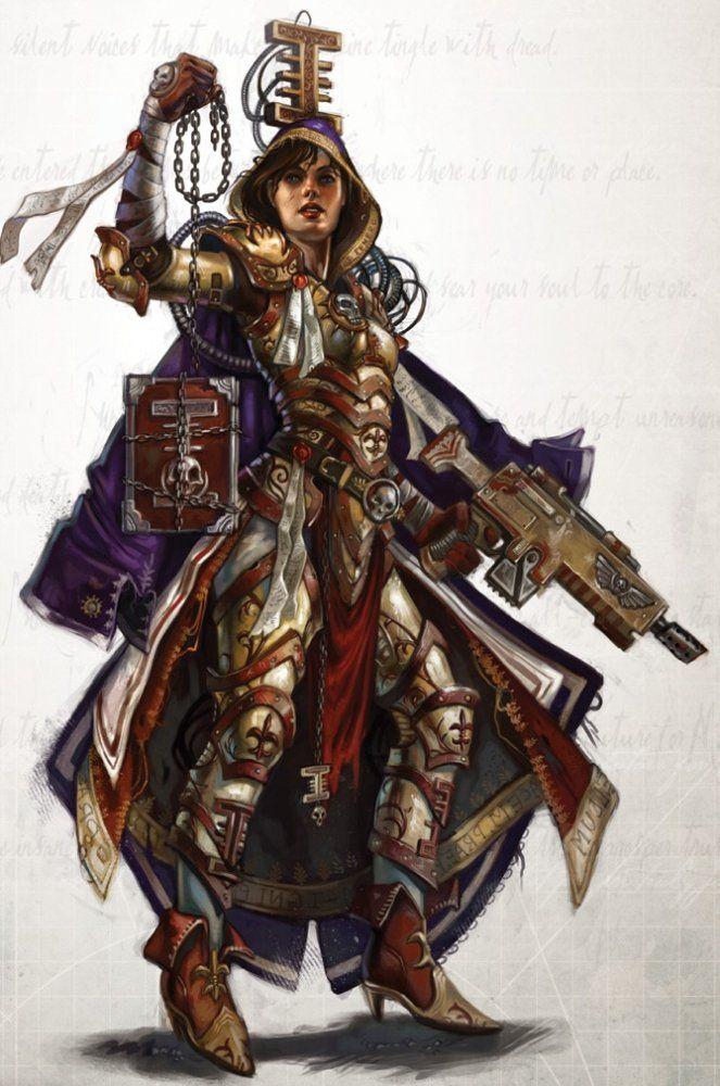 Warhammer 40k Female Inquisitor