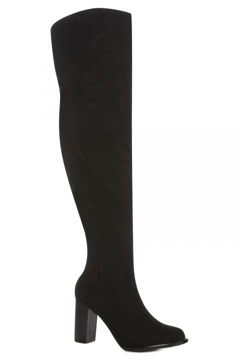 Zara Burgundy Over The knee Boots Size 37,38,39,40