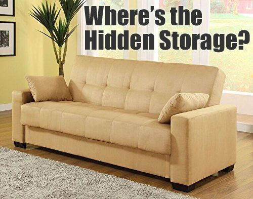 I Like The Pearington Mia Microfiber Sofa Bed Because It Has