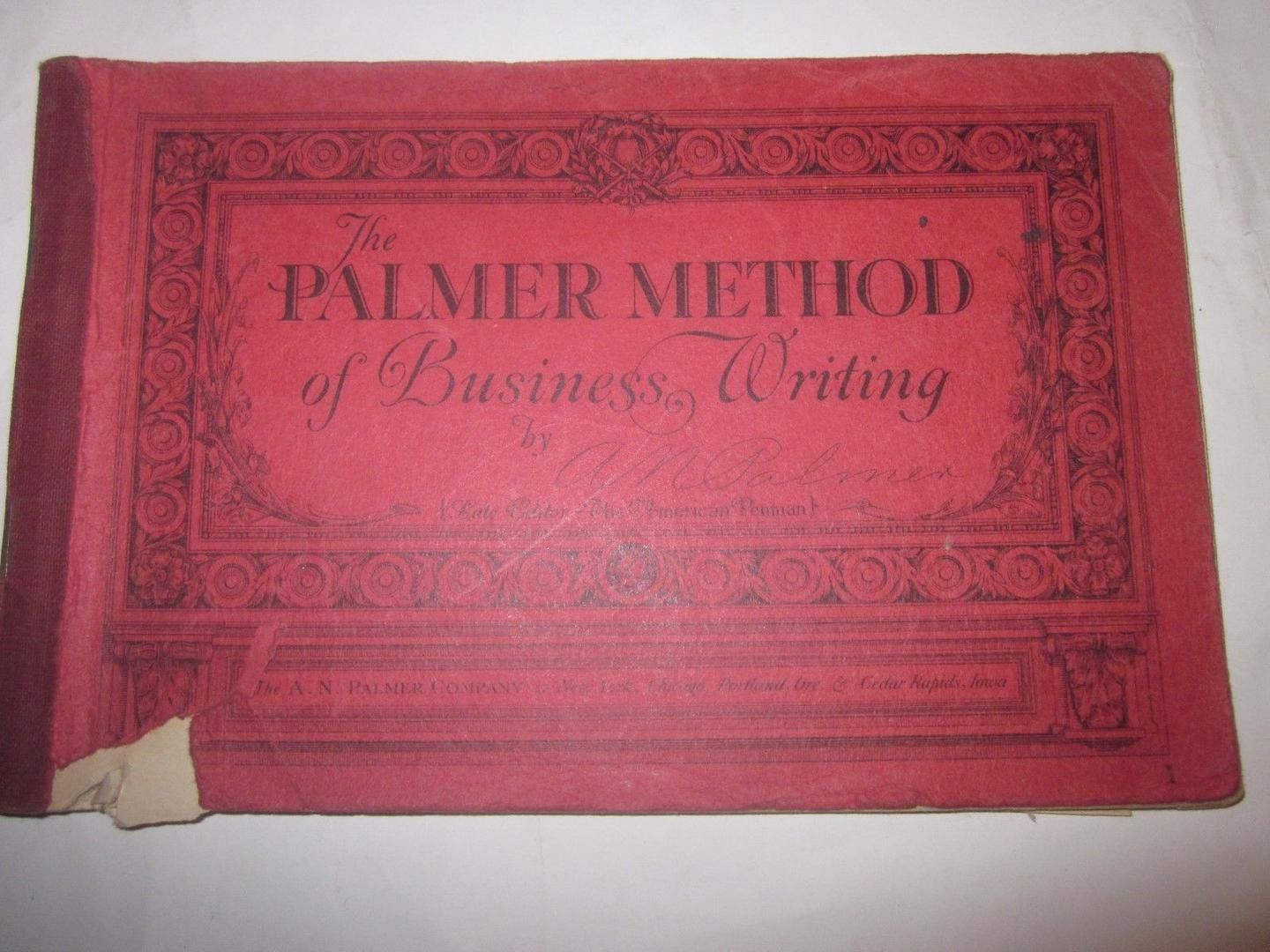 10 Vtg The Palmer Method Of Business Writing