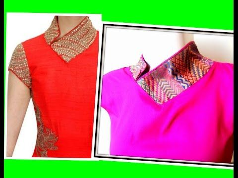 Designs all pictures patterns necklines blouse friday