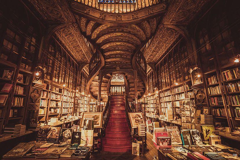 Livraria Lello Loves Domusweb Harry Potter Travel Bucket List Harry Potter Library Harry Potter