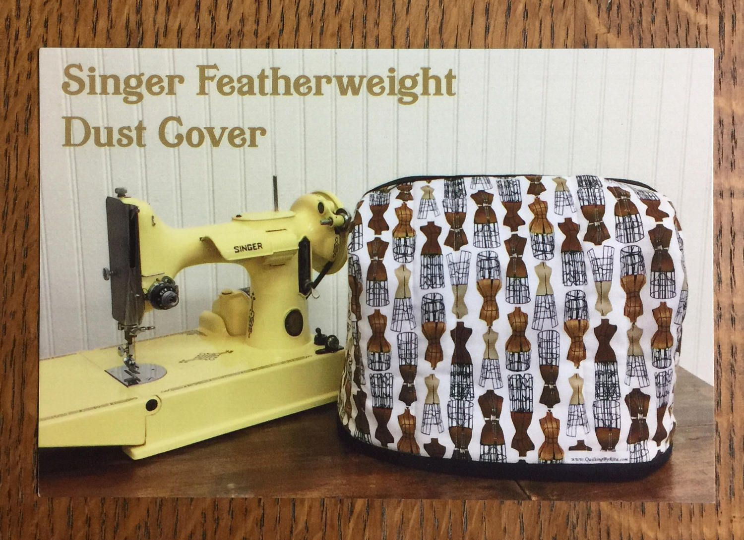 Pattern for a Singer Featherweight Dust Cover | Pinterest | Singers ...