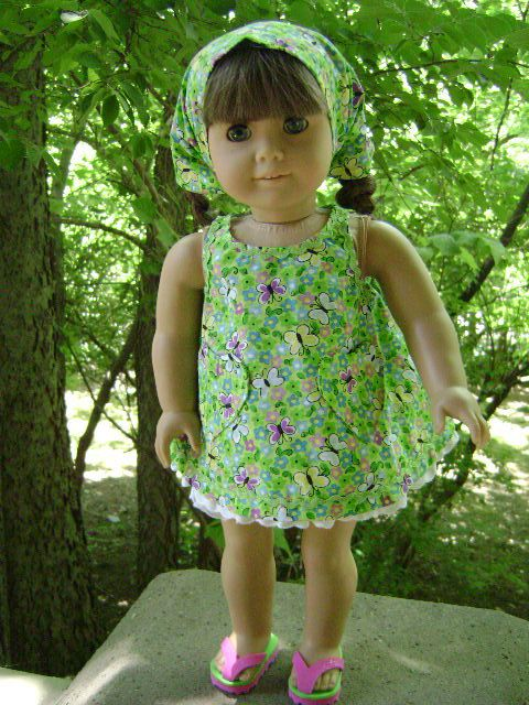 Butterfly Sunsuit for 18 Inch Dolls Will Fit by gofancynancy, $24.99