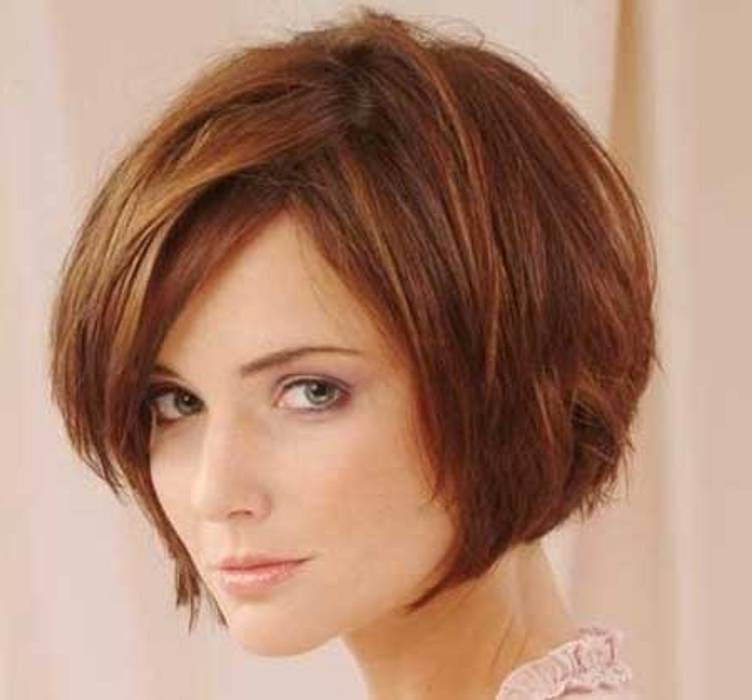 Pleasing Layered Bobs Bobs And Bangs On Pinterest Hairstyle Inspiration Daily Dogsangcom