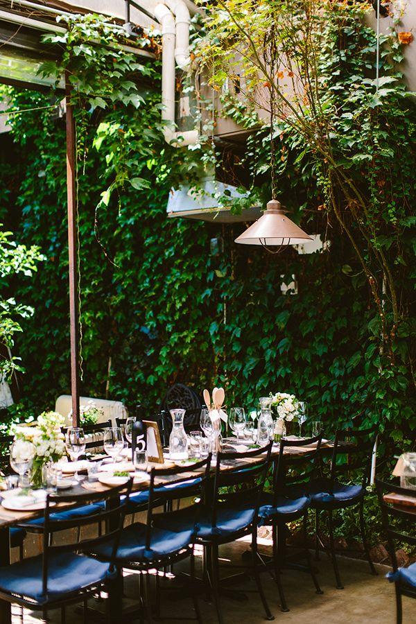 Garden Wedding Reception Photo By Redfield Photography Http Ruffledblog