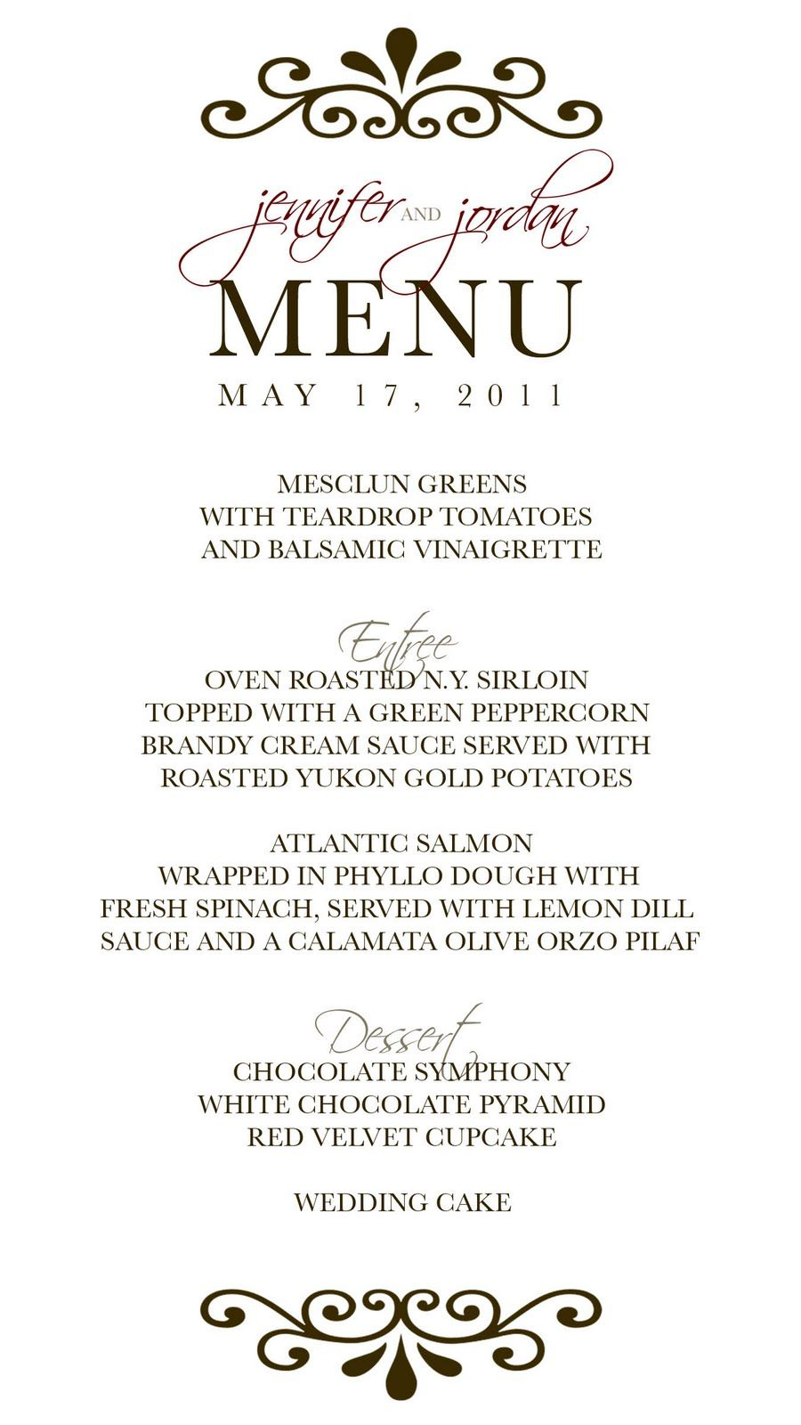 unique menu designs for wedding google search menu pinterest menu templates and wedding