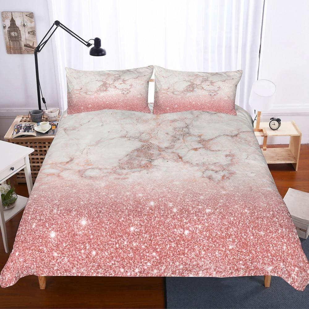 Magical Unicorn Fairy dust Duvet Cover & Pillow set in