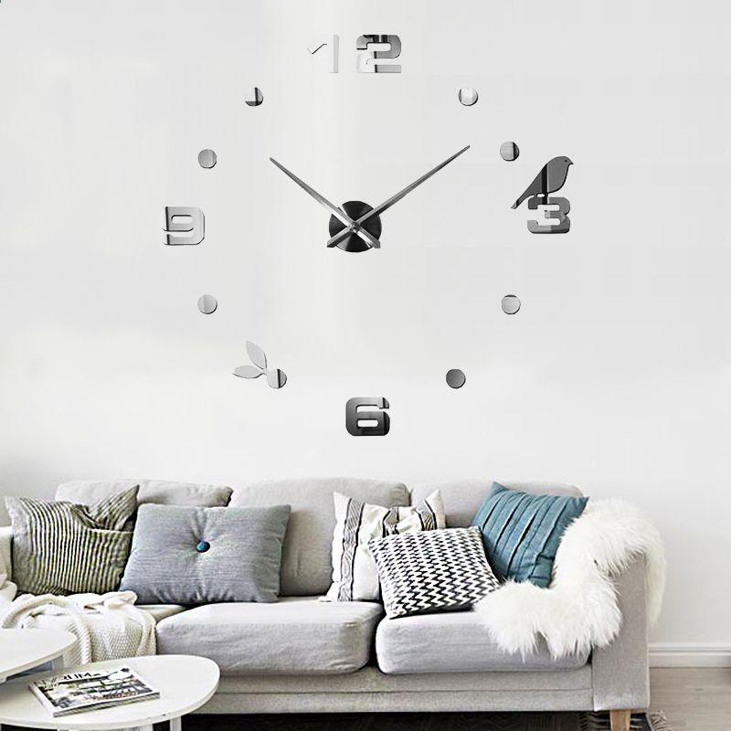 Hauptdekor-Wanduhr-Uhr-Quarz-Maschine geben Verschiffen frei muhsein - wanduhren wohnzimmer modern