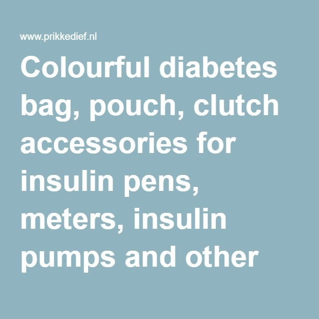 Colourful diabetes bag, pouch, clutch accessories for insulin pens, meters, insulin pumps and other products for diabetics